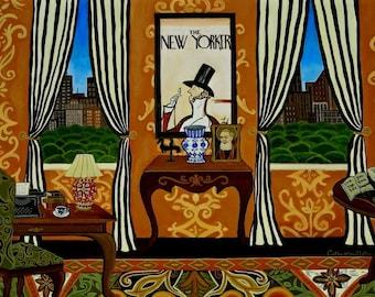 The Writer's Room Fine Art Print Catherine Nolin