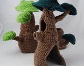 PDF Crochet Pattern - Fairy Hideaway