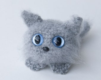 PDF Crochet Pattern - Amigurumi Dust Kitten