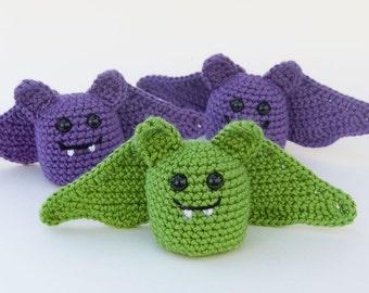 PDF Crochet Pattern - Little Amigurumi Bat