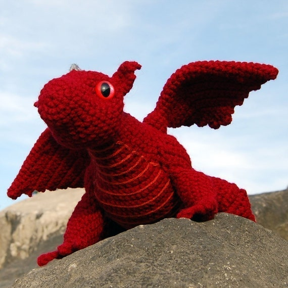 Amigurumi Dragonfly : Pattern baby dragon amigurumi pdf