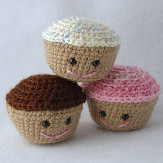 Amigurumi Cute Cupcake : PDF Amigurumi Cupcake Pattern for Crochet by ...