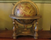 Vintage Olde World Globe Made in Italy