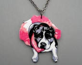 Lowis Necklace with donation to Change of Heart Pit Bull Rescue