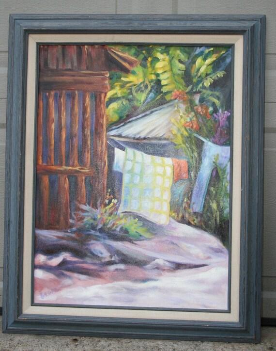 Costa Rica Snapshot Original Oil Painting