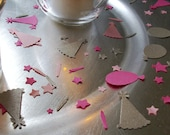 Celebration Confetti - Party Hats, Balloons, Candles & Star Confetti Decorations