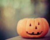 halloween photography / halloween decor / jack o'lantern / jack / 8x10 fine art photograph