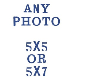 5x5 or 5x7 fine art photograph / your choice, customize your print