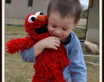 Baby Elmo Doll Crochet PATTERN