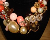 Fun Hip Chunky Vintage Bauble Statement Necklace APRIL SHOWCASE SPECIAL  DON'T MISS OUT