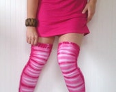 Love Me Two Times Tie Dye Thigh High Leggings
