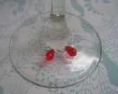 Reserved For Amarantha00- A Vampire Kiss Wine Glass Charm Set