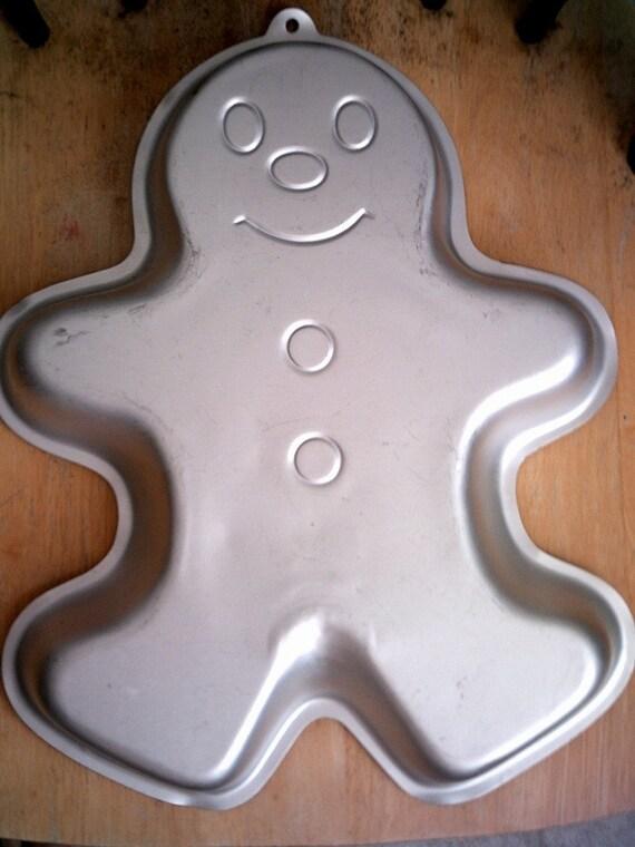 Large Gingerbread Man Cake Pan