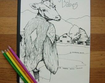 Barnyard Babes Coloring Book