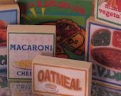 16 Piece Packaged Groceries Block Set