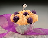 Blackberry Grubby Muffin Candle