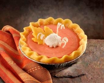 Pumpkin Pie Candle 5 inch