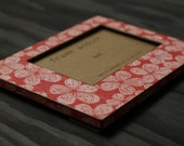 Pink Hibiscus Picture Frame