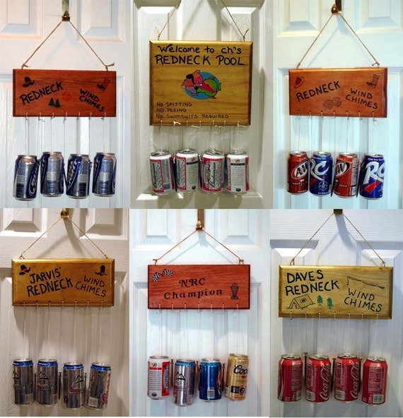 Items Similar To REDNECK WIND CHIMES Sign Bar Beer