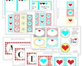 Printable Party Collection - Mod Glam Valentine's Day - The TomKat Studio