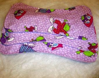 Frogs in PJs Burp Cloth Trio