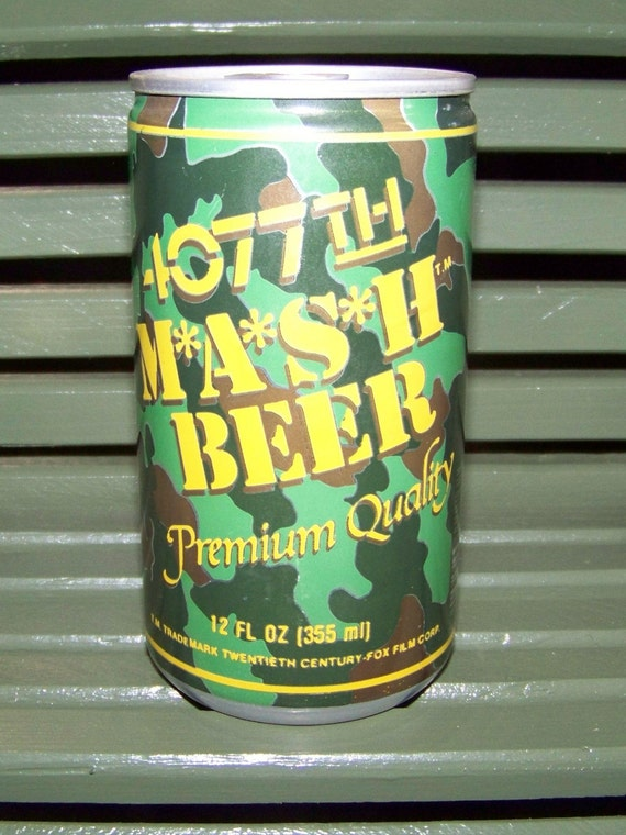 4077th Mash Beer Souvenir Beer Can