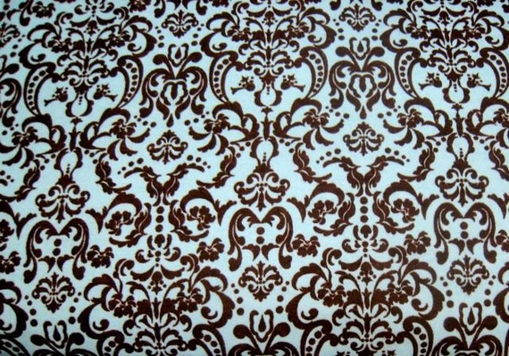 Chic Bebe Ornate Baroque in Pink\/Chocolate Flannel by David Textiles - 1 1\/4 Yard reserved for JEA02