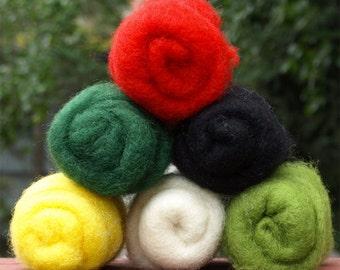 Dream Felt Premium Wool Batting CHRISTMAS Collections