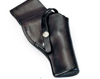 S.D. MYRES El Paso Texas Vintage Leather Gun Holster