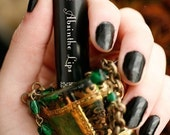 Absinthe Lips™ - natural lip balm - anise, black licorice, chartreuse, sweet, herbal, absinthe flavor