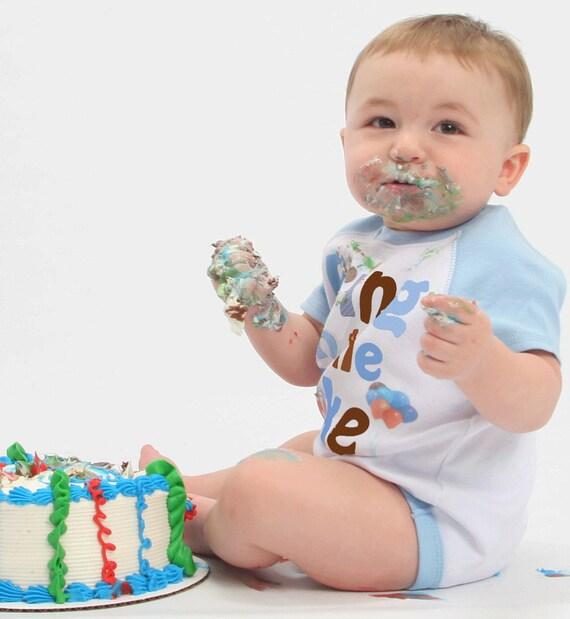 Birthday Bodysuit First Birthday One Piece Baby Boy Birthday Shirt up to Kids Tees. By Mumsy Goose