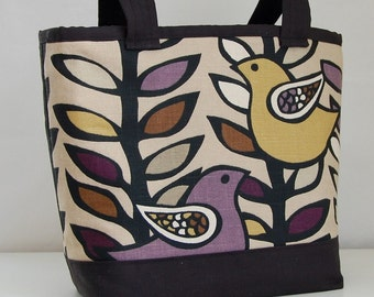 Oslo Amethyst Fabric Tote Bag - READY TO SHIP