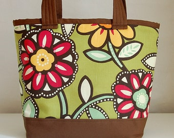Eyecandy Fabric Tote Bag - READY TO SHIP