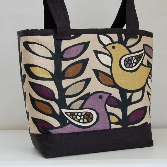Oslo Amethyst Tote Bag  - READY TO SHIP