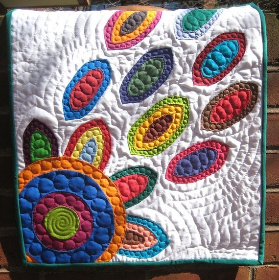 In Bloom Mini Applique Wall Quilt- Portion of Proceeds to Charity