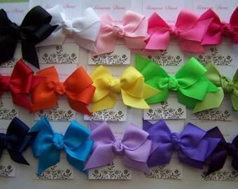 U PICK....2 solid Color Classic Diva Bows