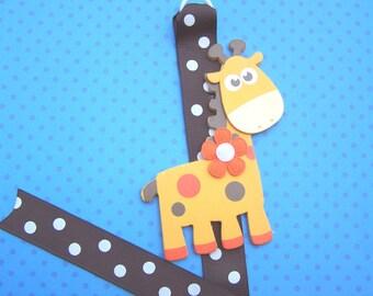 Girly Giraffe Bowholder