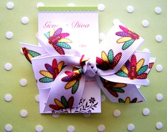 Turkey Time Classic Diva Bow