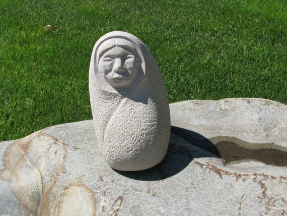 Items similar to stone carving native american indian