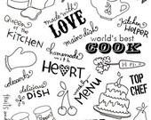 World's Best Cook Rubon Transfers - Melissa Frances