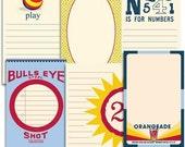 Final Pricing - Jenni Bowlin - Journaling Cards - Play Date