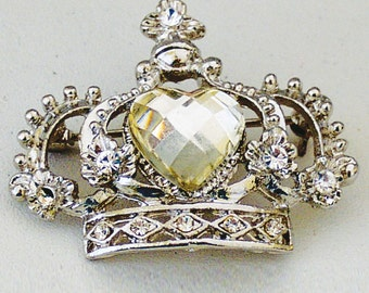 Melissa Frances - Crown Jewel Broach - Project Embellishment