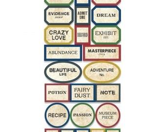 Apothecary Label Stickers- Primitive - 7gypsies