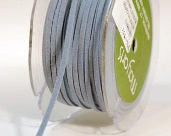 Suede String - Blue - 1/8 Inch