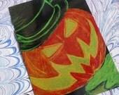 Jack-o-Lantern Postcard