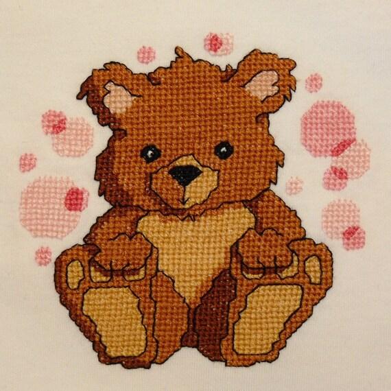 Tootsie Bear   Cross Stitch Pattern