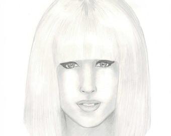 "Let me Draw you in Pencil (9 x 12"" Portrait)"