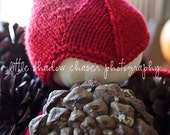 wee gnome (newborn in red) READY TO SHIP