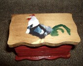 Rooster Treasure Box