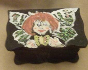 Psychedelic Fairy Treasure Box